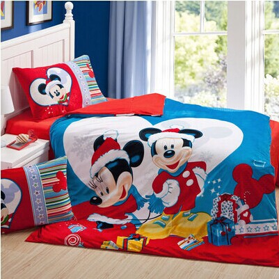 Toy Story Tom And Jerry Car Mickey Mouse Duvet Cover Cartoon Kids