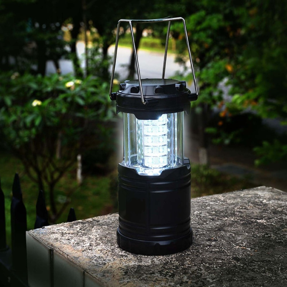 30 LED Mini Portable Folding LED Outdoor Camping Lantern Flashlights For Hiking Camping Emergencies Hurricanes Outages LE-CL10
