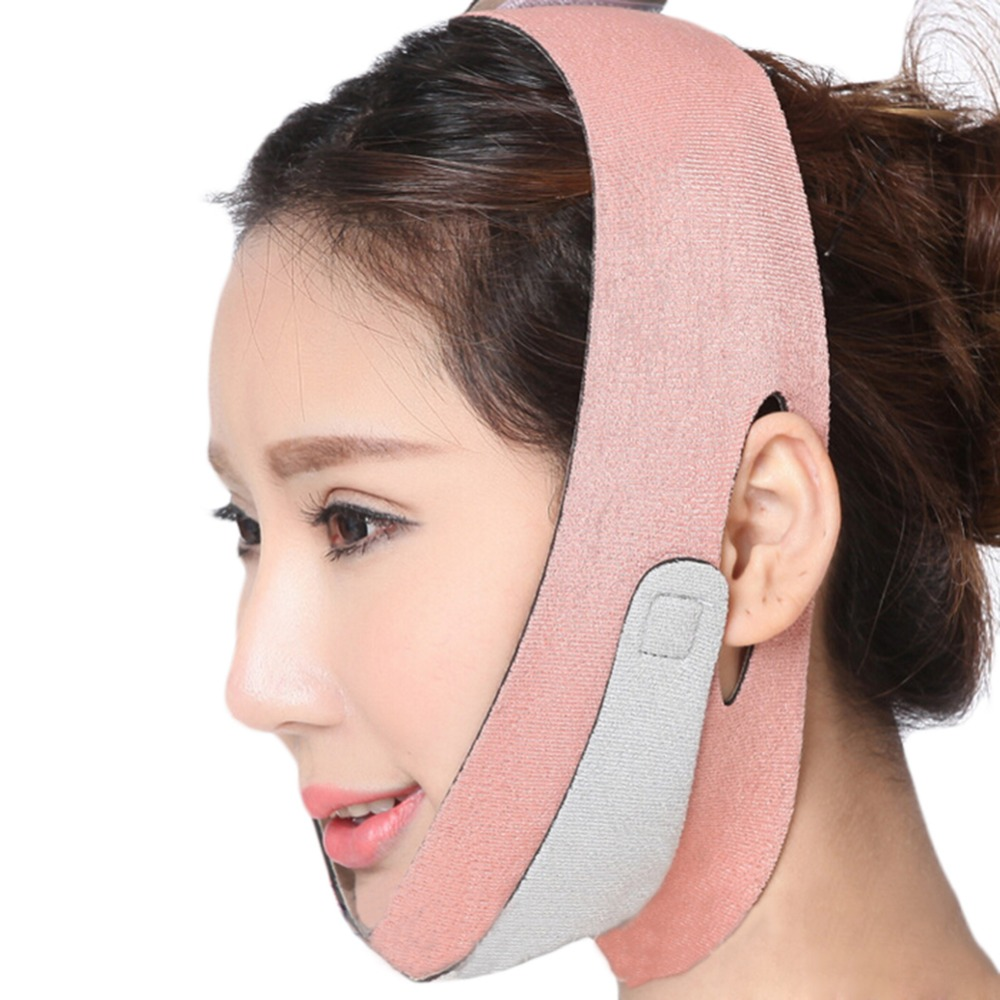 Health Care Face Lift Up Belt Thin Face Mask Slimming Facial Thin Masseter Double Chin Skin Care Thin Face Shaper Bandage Belt red color silicone face slim lift up belt facial slimming massage band mask personal beauty gift
