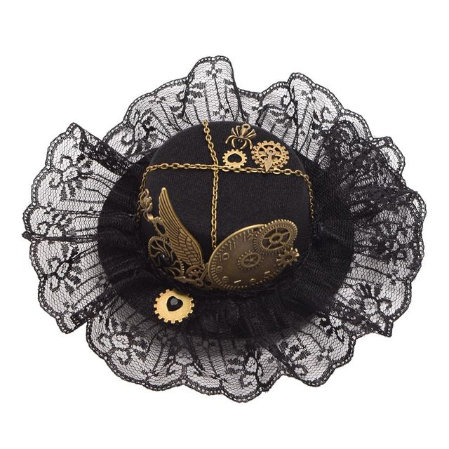 Шляпа готическая в стиле стимпанк в ассортименте