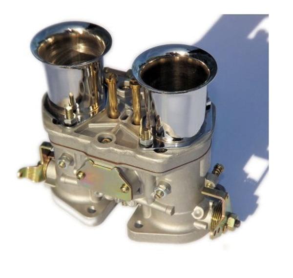Sale!!! 2pcs weber carburetor 40 IDF CARB para bug/bettle/vw dellorto  carburetor with trumple horn