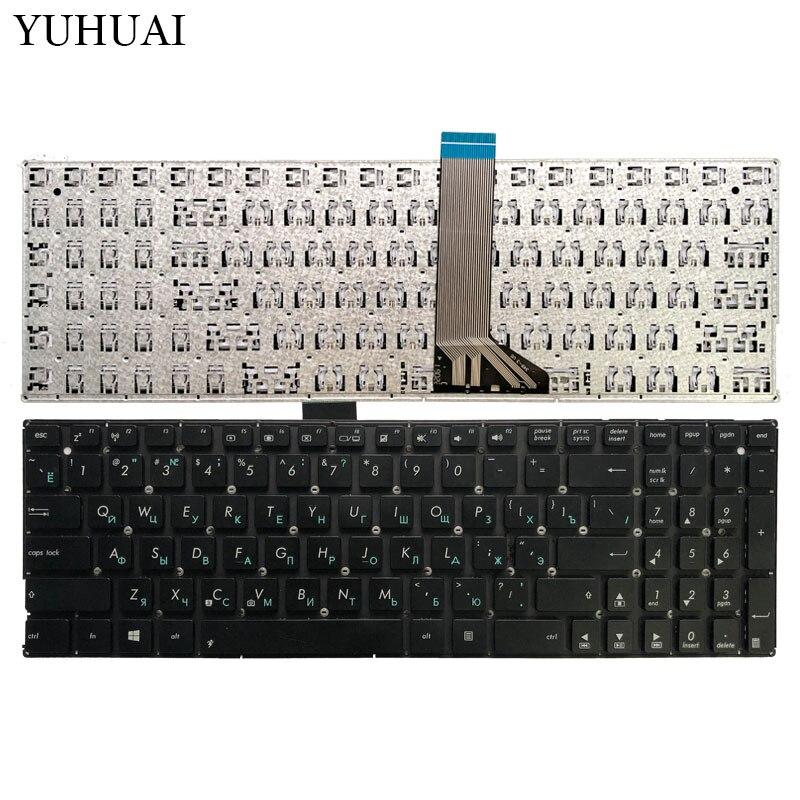Clavier d'ordinateur portable russe pour ASUS x551 X551M X551MA X551MAV F550 F550V X551C X551CA RU clavier noir