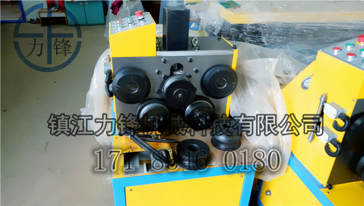 Angle iron roll benders,round section bar bending machine,angle round pipe roller machine