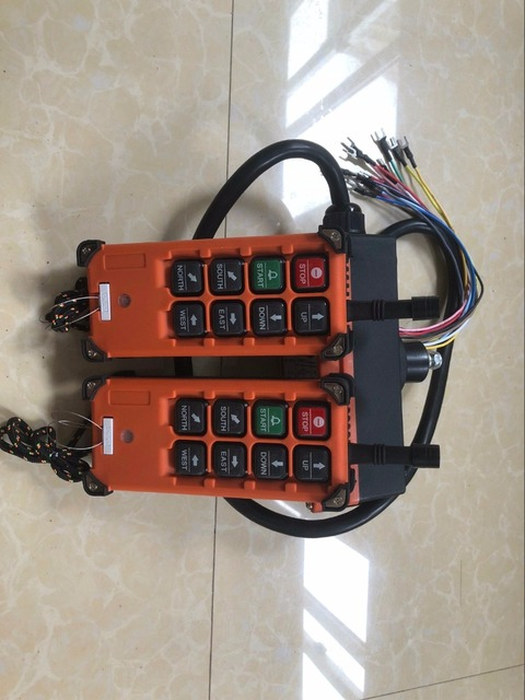 F21 E1B 산업용 리모컨 호이스트 크레인 제어 리프트 크레인 2 송신기 + 수신기 1 개