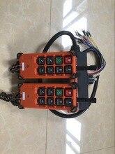 F21 E1B industrial controlador remoto grua guindaste de controle elevador guindaste 2 transmissor + 1 receptor