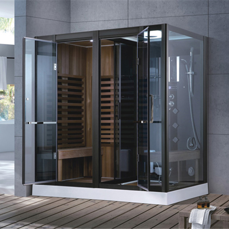 Indoor Sauna Bath Wooden Room Home
