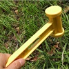 Outdoor Plastic Hammer Knocking Camping Nails Installation Ultra Light Weight Outdoor Hammer Tent Accessories