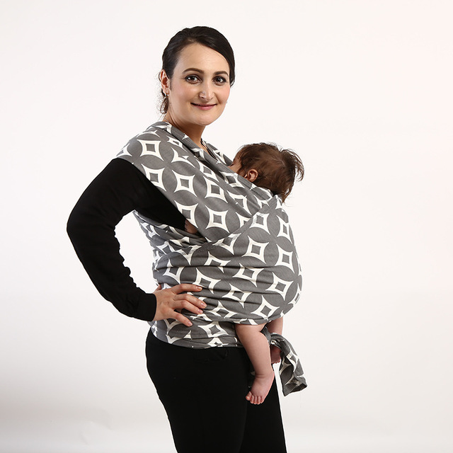 Alta Calidad Ergonómica MiniZone Porta Bebé Moda Patrón Ergonómico Mochila Honda Del Bebé Del Portador de Bebé De 0-3 Años Bebé