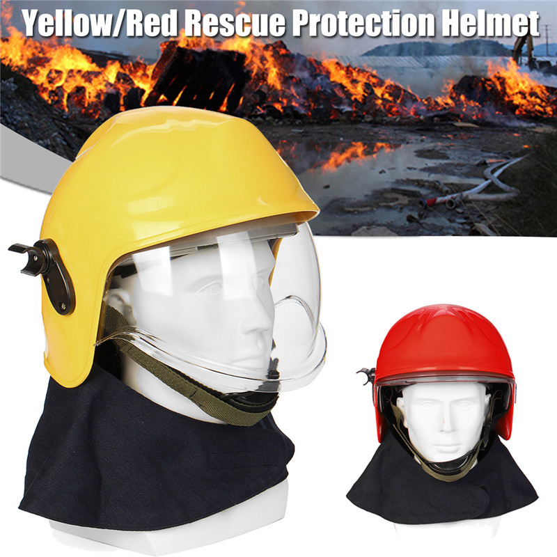 Safety Rescue Helmet forFireman Head Hard Hat Construction HEIGHT WORKING Protector Workplace Safety Supplies Protective Helmet