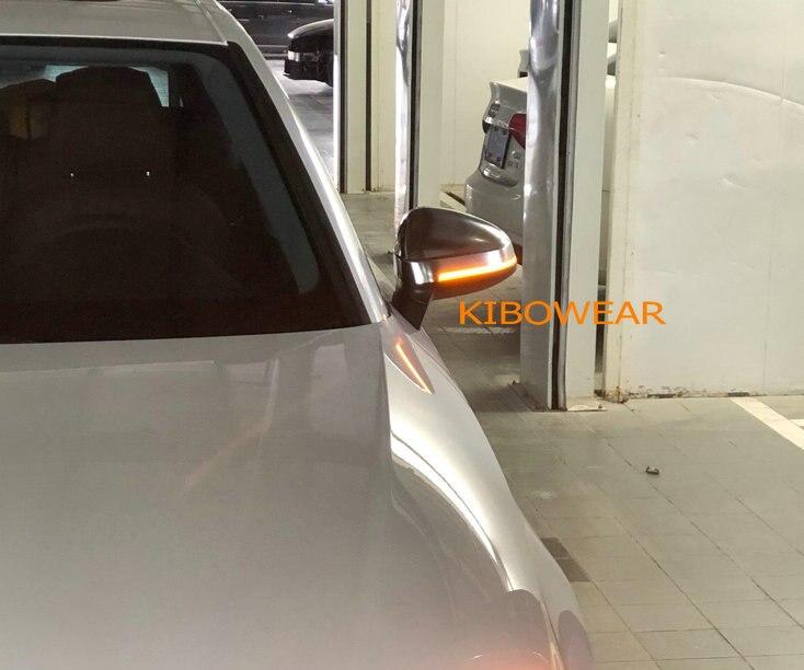 Kibowear per Audi A4 A5 B9 S4 S5 RS5 2017 2018 2019 Dinamica Lampeggiante LED del Segnale di Girata blink Specchietto Laterale luci di indicatore lampeggiatore