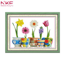 Home of blessings colorful life diy kit chinese cross stitch patterns on canvas embroidery needlework sets counting patterns dmc цена в Москве и Питере