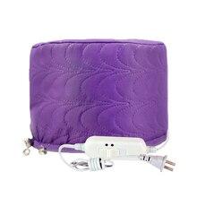 Горячая электрическая нагревательная крышка краска для волос крышка для окрашивания волос постоянная двойная температура капот Уход за волосами испарение фиолетовый