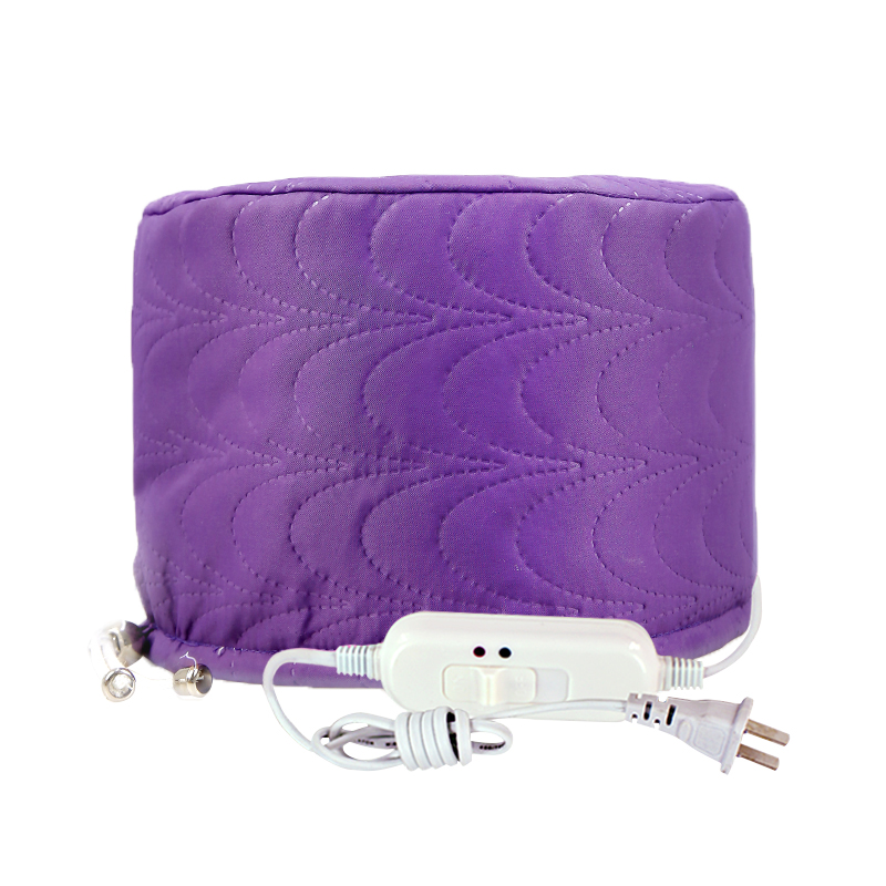 Hot Selling Electric Heating Cap Dye Hair Cap For Hair Coloring Constant Dual Temperature Bonnet Hair Care Evaporation Purple