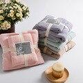 Toalla de baño de fibra de bambú de toallas de baño para adultos 140 70 marca plaid textiles para el hogar toalhas de banho toalla de playa de baño regalo