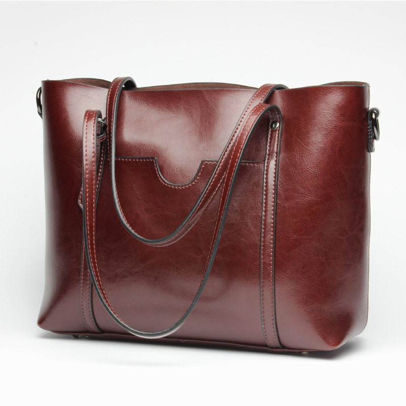PASTE Women Genuine Leather Handbags Cowhide Women Messenger Bags Bolsa Femininas Women Purses And Handbags Oil Wax new T543 chispaulo 2017 women genuine leather handbags cowhide women s messenger shoulder bags crossbody bolsa femininas tassel new c137