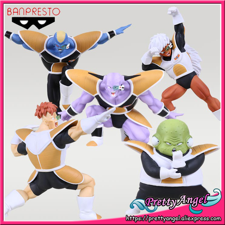 Original Banpresto Dragon Ball Z DRAMATIC SHOWCASE 2nd Season Set of 5 Pcs PVC Figure showcase presents superman team ups volume 2