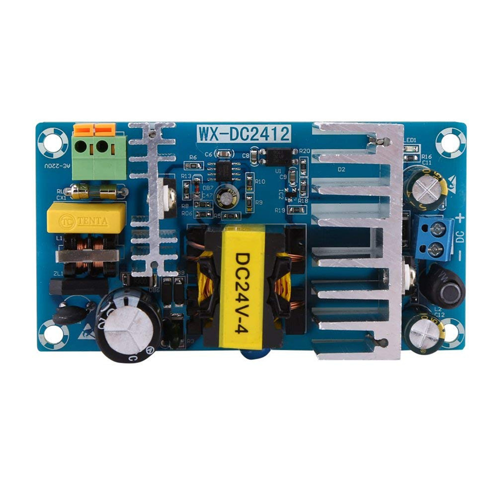 24V high power switching power supply board AC-DC power supply module 24V4A switching power supply board aiyima 36v 180w ac dc switching power supply board high power industrial power supply module