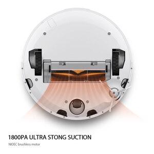 Image 4 - オリジナルxiaomi miロボット掃除機自動掃除ダスト蒸気滅菌スマート計画mijia appリモコン