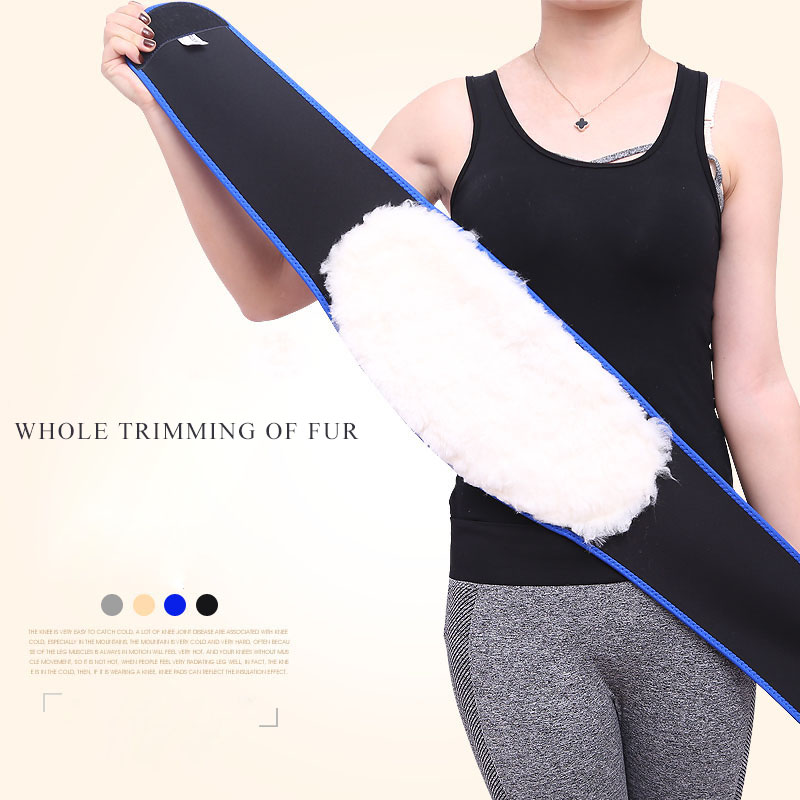 Winter Warm Waistband Thickening of Women Protect The Uterus Abdomen Protective Waist Warmers Men Orthopedic Back Support Belt