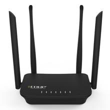 300 Мбит/с Беспроводной Wi-Fi роутера четыре 6dbi антенны Wi-Fi ретранслятор английский язык прошивки Wi-Fi Extender AP/reapter режим 1WAN + 2LAN