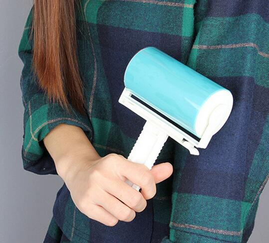 New Arrive Super Sticky Washable Dust Lint Roller With Cover For Fluff Pet Hair Dust Remover Lint Sticking Dusting Roller Volume Large Household Cleaning Home & Garden