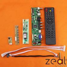 ТЕЛЕВИЗОР HDMI, VGA, USB CVBS РФ Контроллер ЖК-ДИСПЛЕЯ Плата Для 15.4 «LTN154X9-L0 1280*800