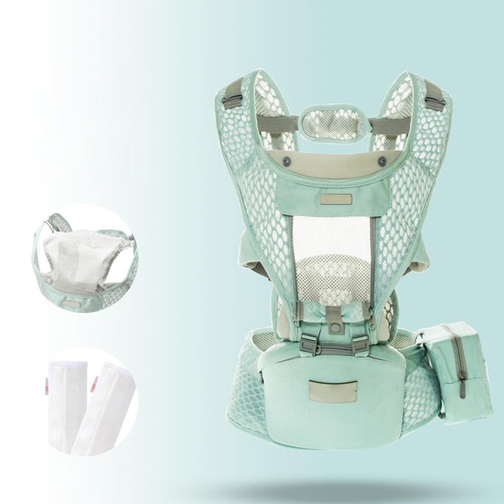 Multifunction Ergonomic Baby Carrier Breathable Mesh Waist Stool Adjustable Prevent O Type Legs Newborn Sling Hipseat Belt