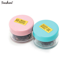 Seashine 10 Russian Volume Lashes Loose Fans 1000 In 1 Jar Natural Soft Wholesale Mink Lash Extensions Makeup