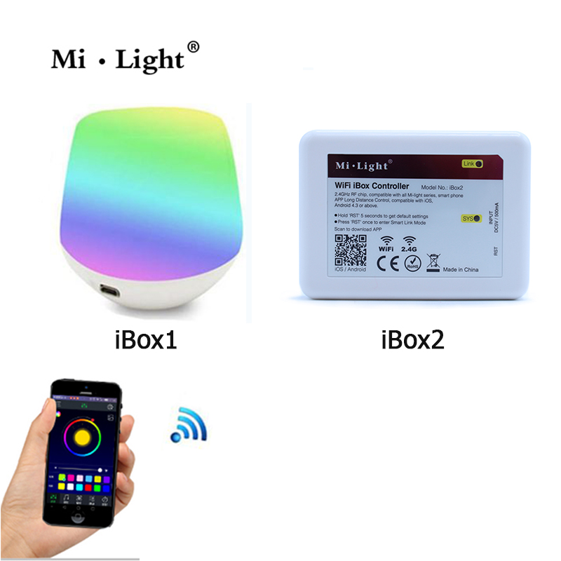 Mi light Wifi APP iOS Android RF touch Remote Controller for