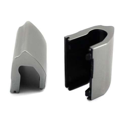 New For Dell Inspiron 15R-5521 15R-5537 Set Of Left&Right Hinge Covers In Silver