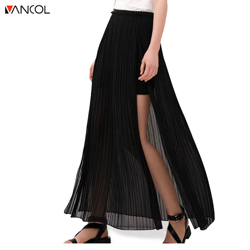 Popular Long Pleated Skirts-Buy Cheap Long Pleated Skirts lots ...