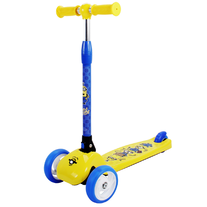 New Children 3 Wheels Foot Scooters Exercise Toys Kick Scooter Kids Boys Girls Roller Skateboard Kickboard Patinete Infantil folding kick scooters foot scooters children best birthday gift with flash pu wheels free shipping