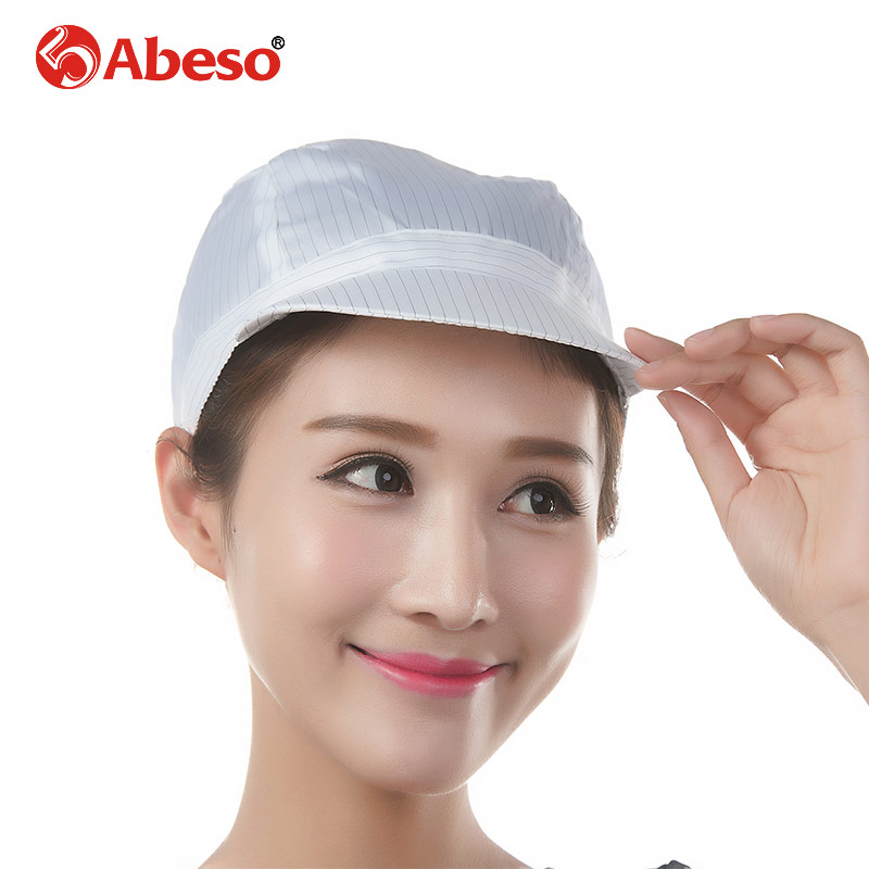 ABESO anti-static washable cloth safety helmet for man, workshop/laboratory/factory safety work helmet A7252 safety pvc special forces helmet random color