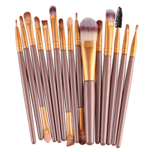 Professional Makeup Brush Set 15pcs Eye Shadow Brush High Quality Makeup Tools Kit soft bristle makeup brush 15pcs