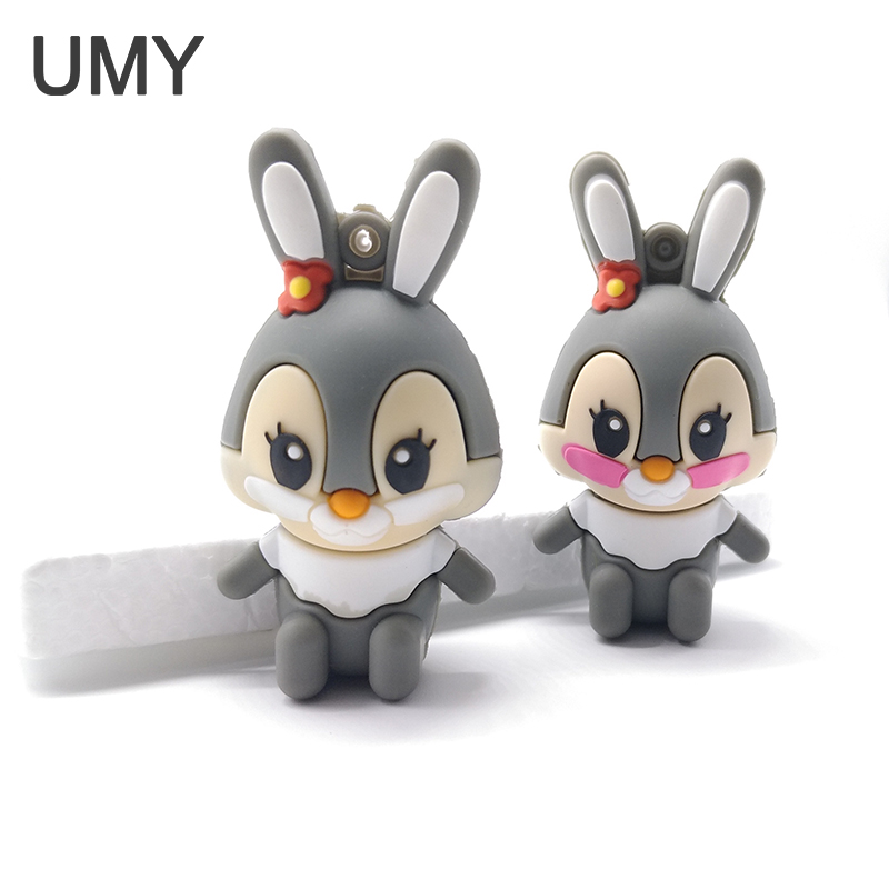 Lovely rabbit usb flash drive pendrive 4gb 8gb 16gb 32gb usb Memory card usb flash memory stick personalized mini pen drive