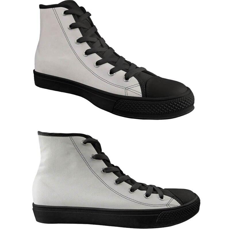 Chaussures de toile de modèle de guitare de mode de deuxceursgirl haut décontracté chaussures vulcanisées des femmes baskets plates classiques à lacets femme - 6