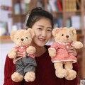 30 СМ симпатичный медведь мальчики девочки небольшой милый плюшевый медведь свадьбы пара плюшевые малыш мягкая игрушка Huggable куклы Дети новый год день рождения подарок