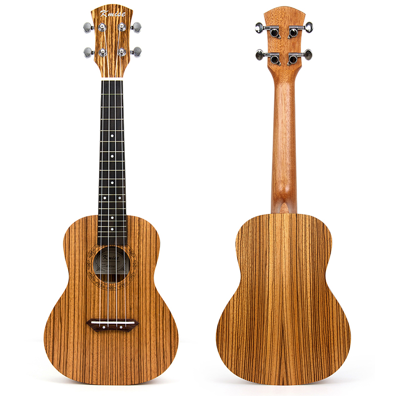 Kmise Tenor Ukulele Ukelele Uke 26 inch 18 Frets Zebrawood 4 String Hawaii Guitar Professional Musical Instrument the beatles 4 string electric bass guitar sun sb color musical instrument