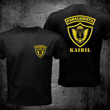 2019 Fashion Double Side New Kaibil Kaibiles Guatemalan Special Forces Paracaidista Paratrooper T-Shirt Unisex Tee