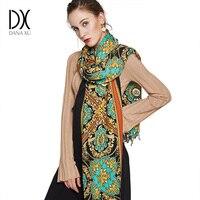 Écharpe Pour Femmes De Mode D'hiver Écharpe En Cachemire Chaud Plaid Pashmina Écharpe De Luxe Marque Couverture Wraps Femme Foulards Et Châles