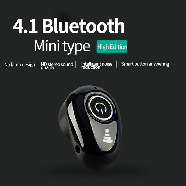 VPB earphone wireless Bluetooth single ear stealth fashion candy color earbud universal headset wholesale