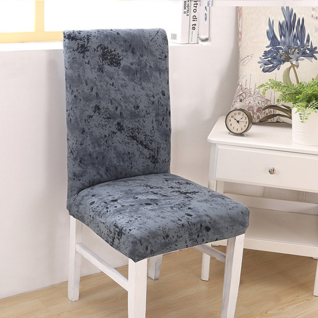 2018 New Funda Silla Comedor Removable Stretch Chair Cover Elastic ...