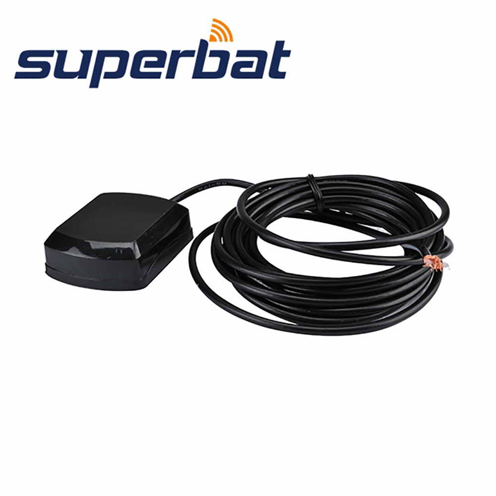 אנטנת GPS Superbat 1575.42 ± 3Mhz BNC Booster אותות אוויריים ל- Garmin GPS MAP 296 376c 396 498C 95XL 100STD 120XL NorthStar