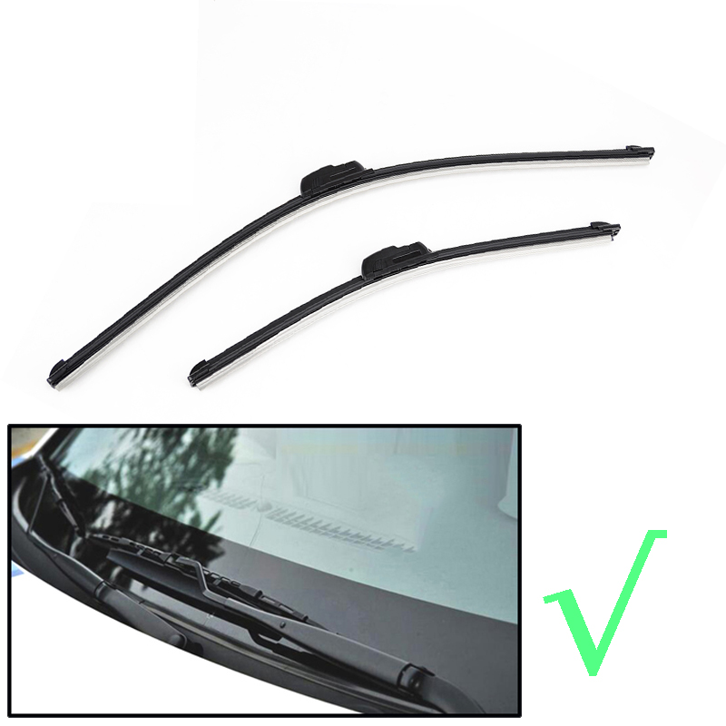 """Image 2 - Ericks Wiper Front Wiper Blades For VW Polo Sedan / Vento 2010 2011 2012 2013 2014 2015 2016 2017 Windshield Windscreen Front Window 24""""+16""""-in Windscreen Wipers from Automobiles & Motorcycles"""