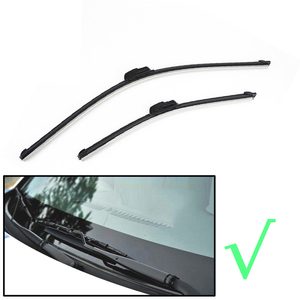 """Image 2 - Przednie pióra wycieraczek Erick dla VW Polo Sedan / Vento 2010   2017 przednie okno przedniej szyby 24 """"+ 16"""""""