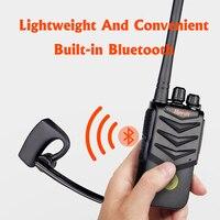 מכשיר הקשר מכשיר הקשר דיבורית אוזניית Bluetooth אלחוטית אוזניות כף יד שני הדרך רדיו אלחוטי אוזניות Buletooth אפרכסת (2)