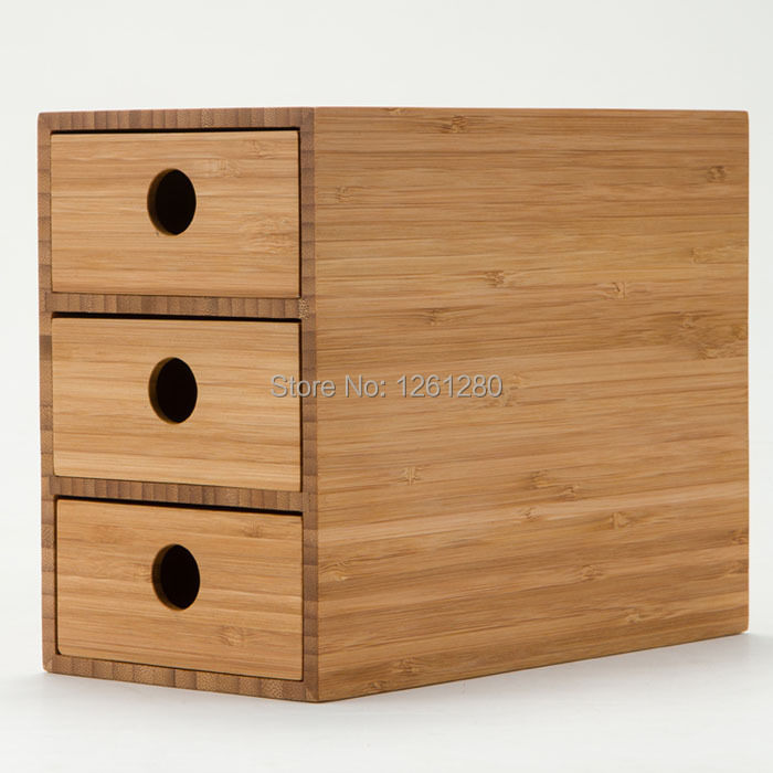 Free Shipping Wooden Tool Cabinet Case Desk Storage Drawer Cosmetic Box Bin Jewelry Organize Office Creative Home Craft In Cabinets From Tools