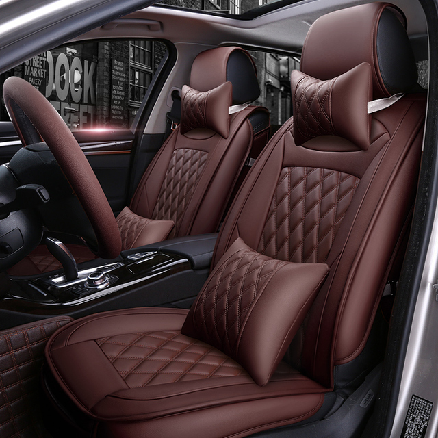 Special Leather Car seat covers For Citroen C3 XR C4 Cactus C2 C3 C5 ...