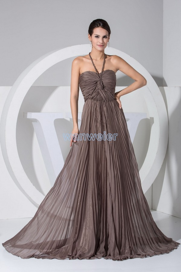 Designer couture evening dresses