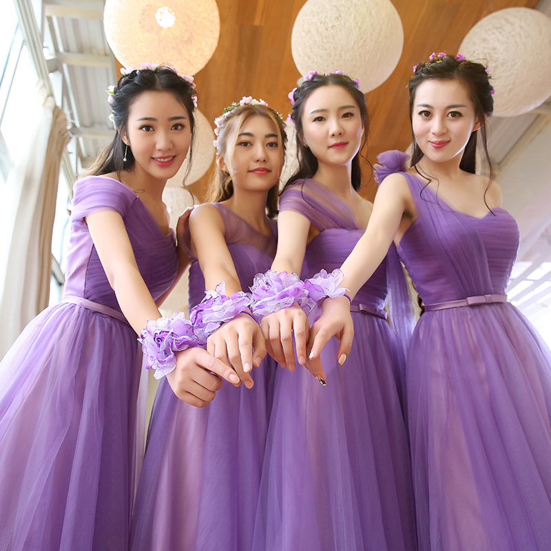 Atractivo Vestidos De Dama Violeta Ideas Ornamento Elaboración ...